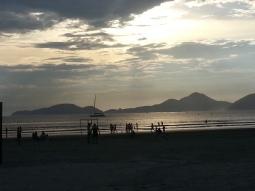 Praia no canal 5