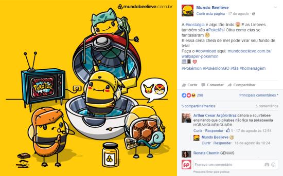 Mundo Beelieve e o Pokémon GO